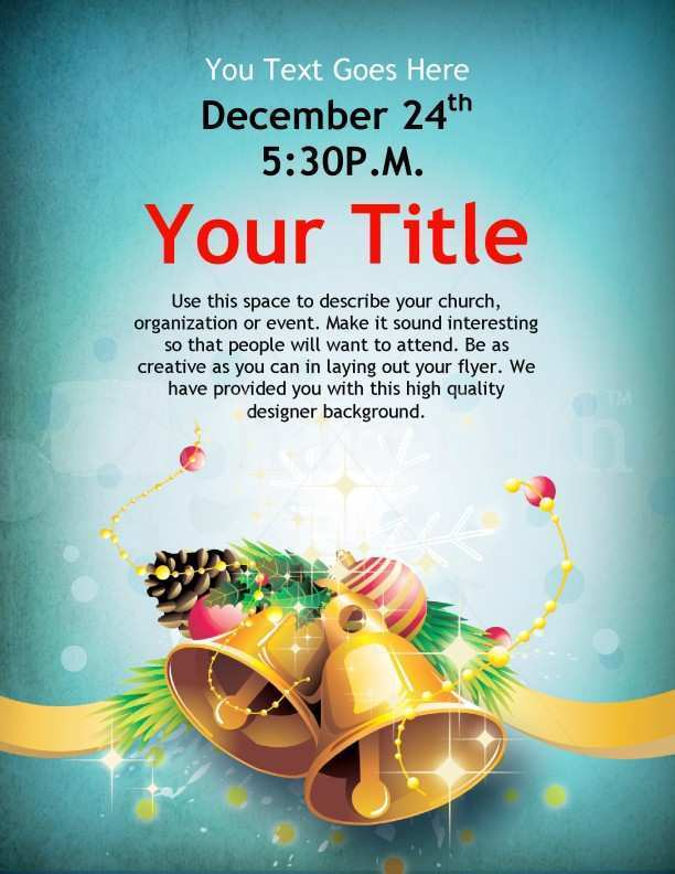 51 Customize Christmas Flyer Templates Free Now by Christmas Flyer Templates Free