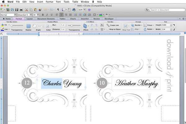 51 Customize Name Card Template Doc With Stunning Design by Name Card Template Doc