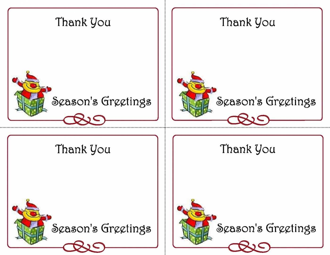 51 Customize Our Free Christmas Note Card Templates Word With Stunning Design by Christmas Note Card Templates Word