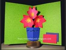 51 Format Free Pop Up Flower Card Templates Now for Free Pop Up Flower Card Templates