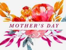 Mothers Card Templates Software