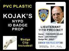 51 Format Nypd Id Card Template in Photoshop by Nypd Id Card Template