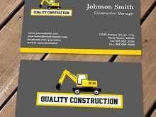 51 Online Business Card Templates Construction With Stunning Design for Business Card Templates Construction