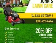 51 Online Lawn Mowing Flyer Template in Photoshop with Lawn Mowing Flyer Template