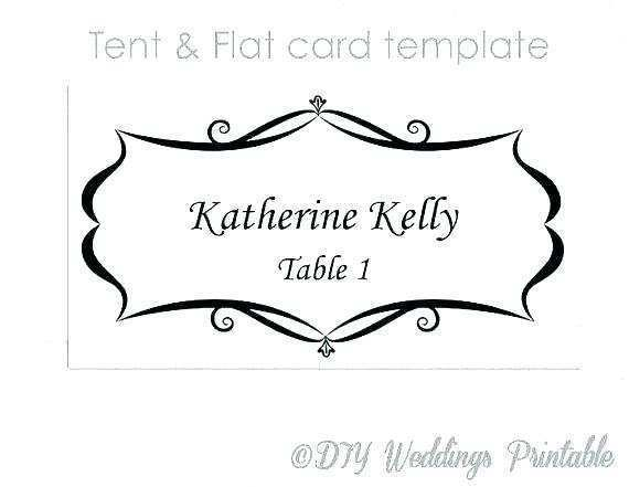 51 Online Name Card Template For Table Settings PSD File by Name Card Template For Table Settings