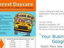 51 Printable Home Daycare Flyer Templates Download with Home Daycare Flyer Templates