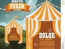 51 Report Circus Tent Card Template Maker for Circus Tent Card Template