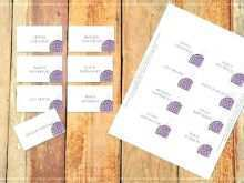 Wedding Name Card Template Free Download