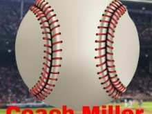 51 The Best Baseball Name Card Template Templates with Baseball Name Card Template