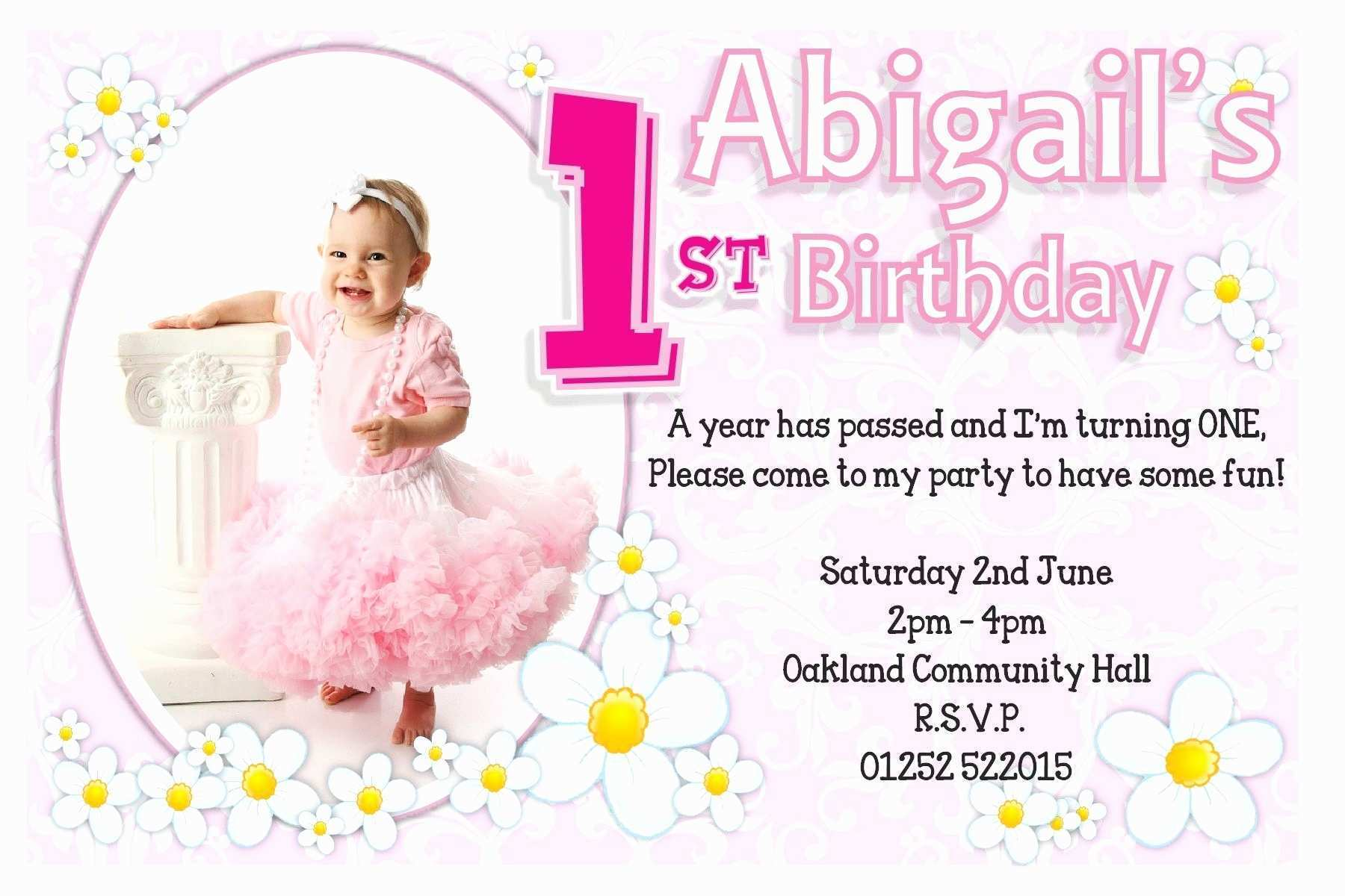 51 The Best Birthday Invitation Card Template For Girl Templates with Birthday Invitation Card Template For Girl