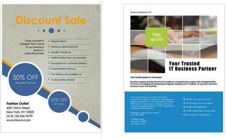 51 The Best Business Flyer Templates Word for Ms Word by Business Flyer Templates Word