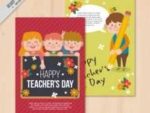 Teachers Day Card Template Free Download