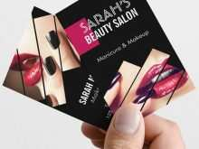 51 Visiting Beauty Salon Business Card Template Free Download in Word by Beauty Salon Business Card Template Free Download