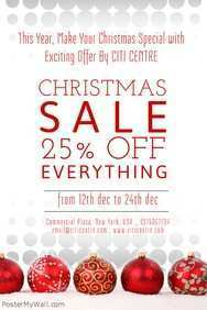 52 Adding Christmas Sale Flyer Template With Stunning Design by Christmas Sale Flyer Template