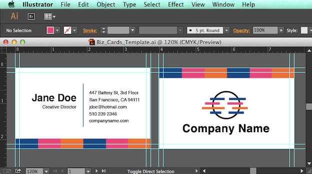 52 Best Adobe Illustrator Cc Business Card Template in Word with Adobe Illustrator Cc Business Card Template