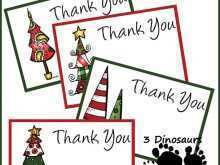 52 Best Christmas Card Thank You Template Download by Christmas Card Thank You Template