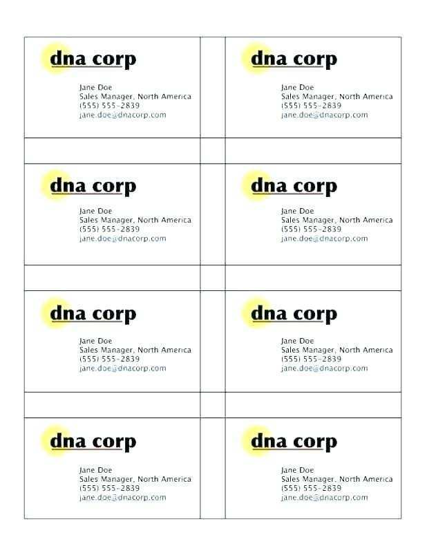 decadry business card template free download