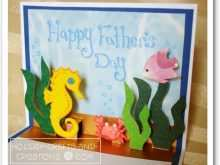 52 Blank Pop Up Card Templates For Father S Day Maker by Pop Up Card Templates For Father S Day