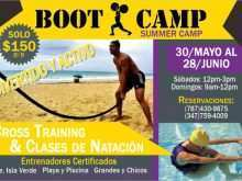 52 Creative Fitness Boot Camp Flyer Template Formating by Fitness Boot Camp Flyer Template