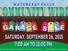 52 Customize Community Garage Sale Flyer Template For Free for Community Garage Sale Flyer Template