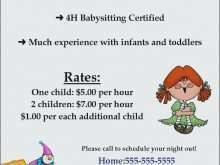 52 Customize Our Free Babysitting Flyer Templates Free Photo with Babysitting Flyer Templates Free