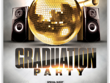 52 Customize Our Free Graduation Party Flyer Template Now for Graduation Party Flyer Template