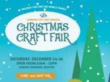 52 Format Christmas Fair Flyer Template Maker with Christmas Fair Flyer Template