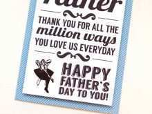 52 Format Father S Day Card Template For Word Formating by Father S Day Card Template For Word