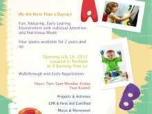 52 Format Home Daycare Flyer Templates Formating for Home Daycare Flyer Templates