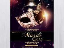 52 Free Mardi Gras Flyer Template For Free with Mardi Gras Flyer Template
