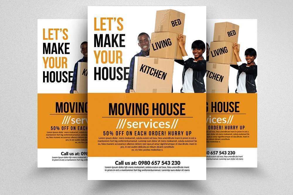 52 Free Moving Company Flyer Template Formating for Moving Company Flyer Template