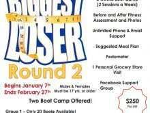 52 Free Printable Biggest Loser Flyer Template Now for Biggest Loser Flyer Template