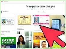 School Id Card Template Online