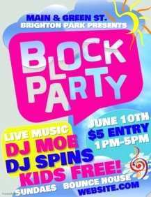 52 How To Create Block Party Template Flyer Templates for Block Party Template Flyer