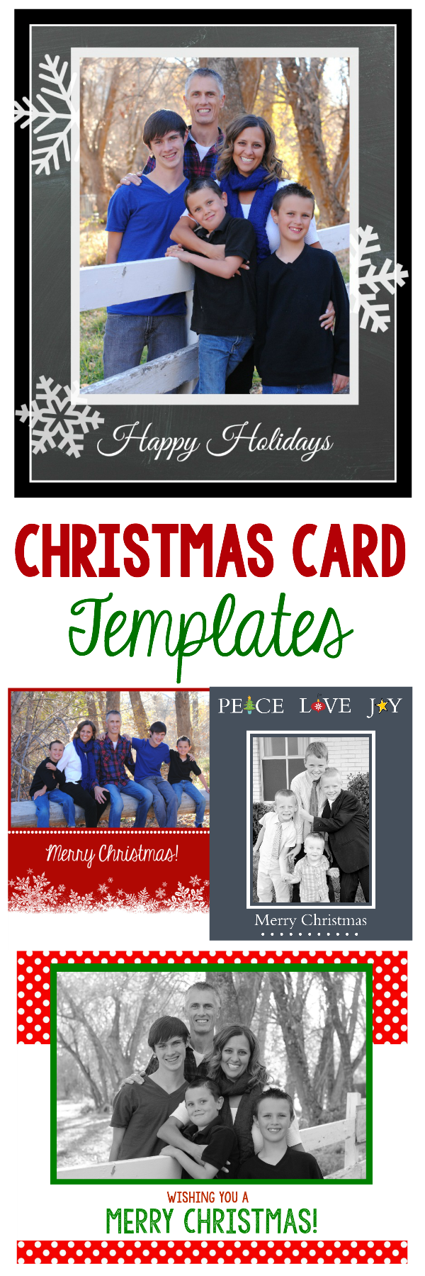 21X21 Christmas Photo Card Template Free - Cards Design Templates In 4x6 Photo Card Template Free