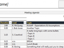 52 Printable 2 Day Meeting Agenda Template in Word by 2 Day Meeting Agenda Template