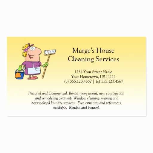 52 Printable Business Card Template House Cleaning For Free with Business Card Template House Cleaning