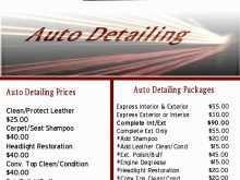 52 Printable Car Detailing Flyer Template Maker for Car Detailing Flyer Template