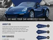 52 Report Car Wash Flyers Templates Layouts for Car Wash Flyers Templates