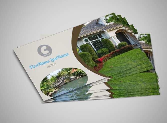 52 Standard Business Card Template Landscape Photo for Business Card Template Landscape