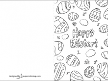 52 Standard Easter Card Templates Printable PSD File for Easter Card Templates Printable