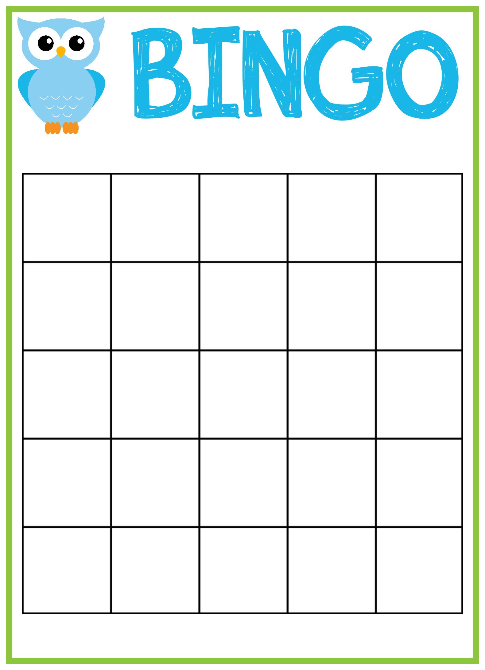 Free Bingo Card Template 21X21 - Cards Design Templates Within Blank Bingo Card Template Microsoft Word