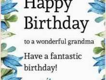 52 The Best Birthday Card Template Grandmother in Photoshop by Birthday Card Template Grandmother