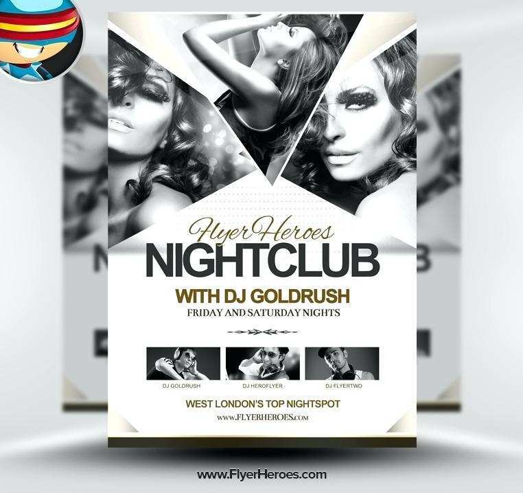 52 The Best Club Flyer Template Psd Templates by Club Flyer Template Psd