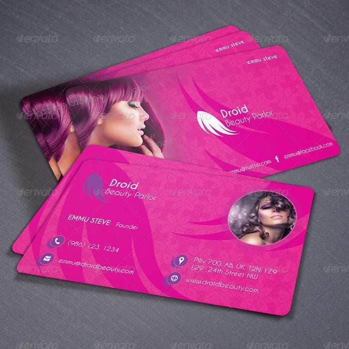 52 Visiting Beauty Salon Business Card Template Free Download Layouts by Beauty Salon Business Card Template Free Download