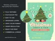 52 Visiting Christmas Fair Flyer Template Formating by Christmas Fair Flyer Template