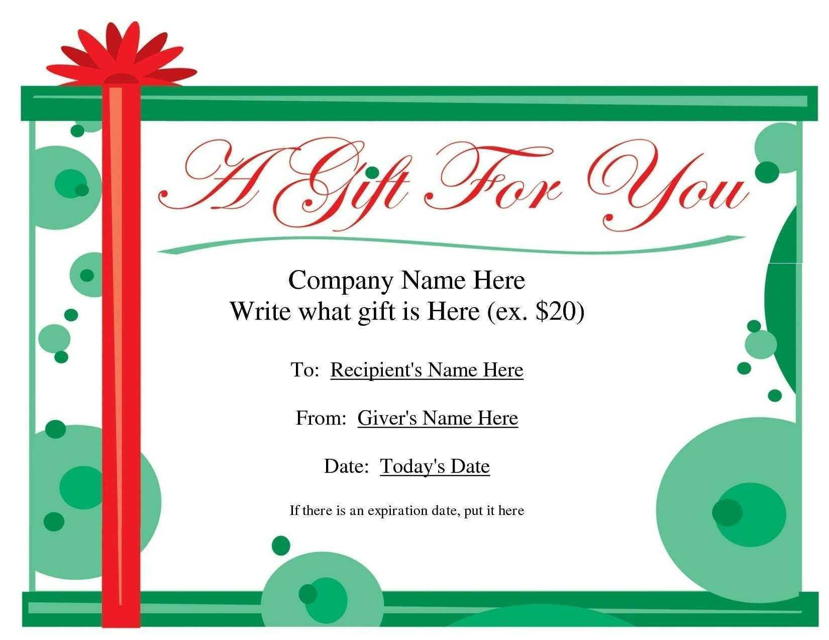 52 Visiting Christmas Gift Card Template Microsoft Word in Word for Christmas Gift Card Template Microsoft Word