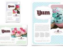 52 Visiting Cupcake Flyer Template PSD File with Cupcake Flyer Template