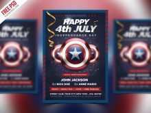 52 Visiting Fourth Of July Flyer Template Free Now with Fourth Of July Flyer Template Free