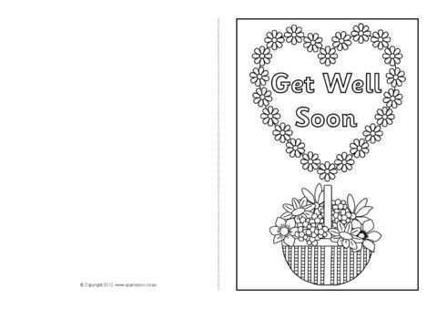 52 Visiting Get Well Soon Card Templates For Free By Get Well Soon